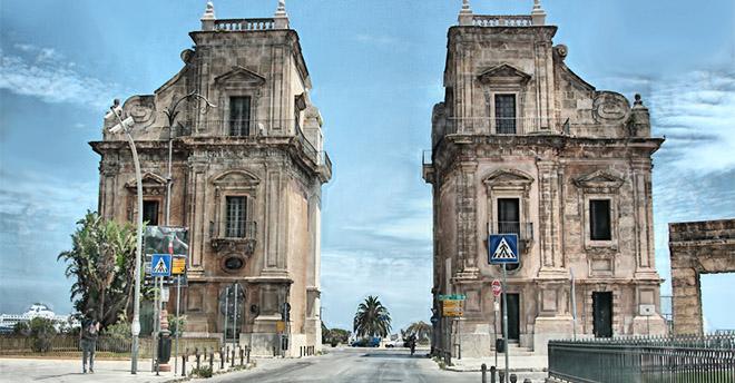 I piloni trionfali dai quali passata la storia a palermo le visite alla porta felice - Porte a palermo ...