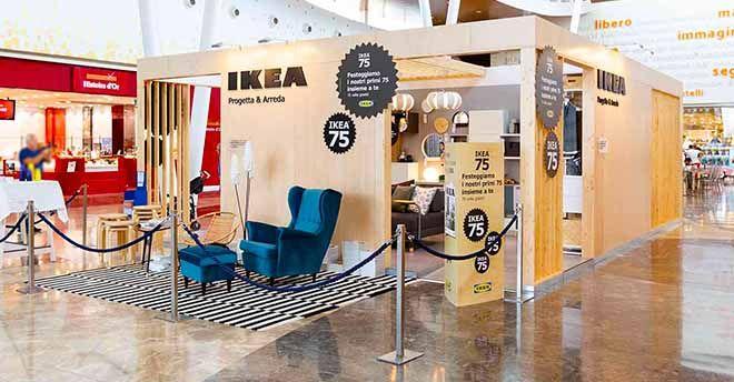 Se La Montagna Non Va Da Maometto Come Funziona Lo Stand Ikea A Palermo