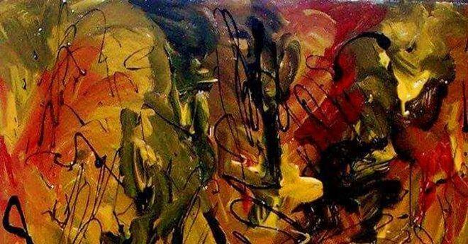 Storm inside la personale di pittura di vincenzo for Modi di pittura