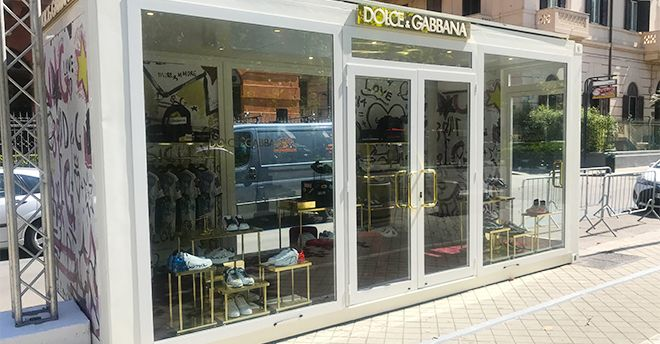 reputable site 42aa1 9a746 Dolce & Gabbana Loves Palermo: il cubo - container in centro ...