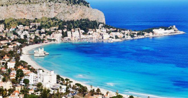 Matrimonio Spiaggia Mondello : Mare spiagge e isole di sicilia