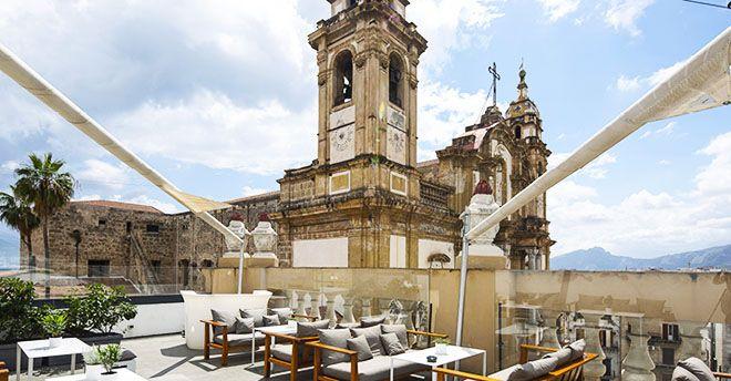 Aperitivo con vista, musica e i tetti di Palermo dall\'alto: il drink ...