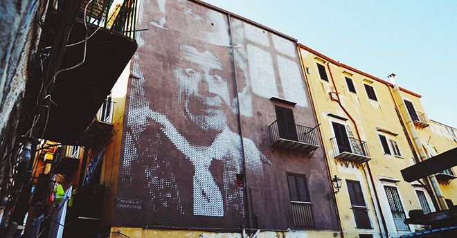 I Piu Bei Murales.Se A Palermo Un Murale Vale Piu Di Una Biennale Riflessioni Sull