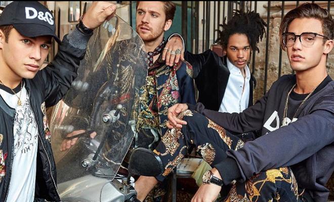 3890435289863 Sono arrivati i modelli  i primi scatti dei ragazzi di Dolce e Gabbana a  Palermo