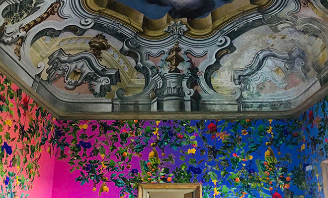 Carta Da Parati A Palermo.A Palazzo Butera In Anteprima Le Strepitose Carte Da Parati