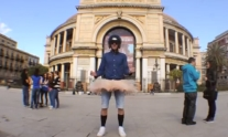 Harlem Shake, centinaia in piazza per il flash mob | Balarm.it