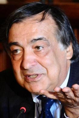 Il sindaco Leoluca Orlando